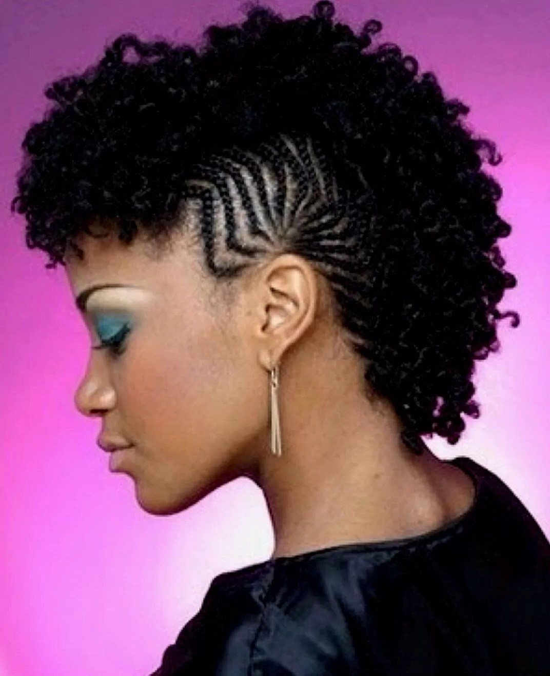 Most Current Small Braids Mohawk Hairstyles For Latest Hairstyles In Kenya 2018 ▷ Tuko.co (View 14 of 20)