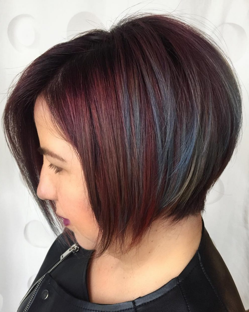 2020 Latest Uneven Layered Bob Hairstyles For Thick Hair