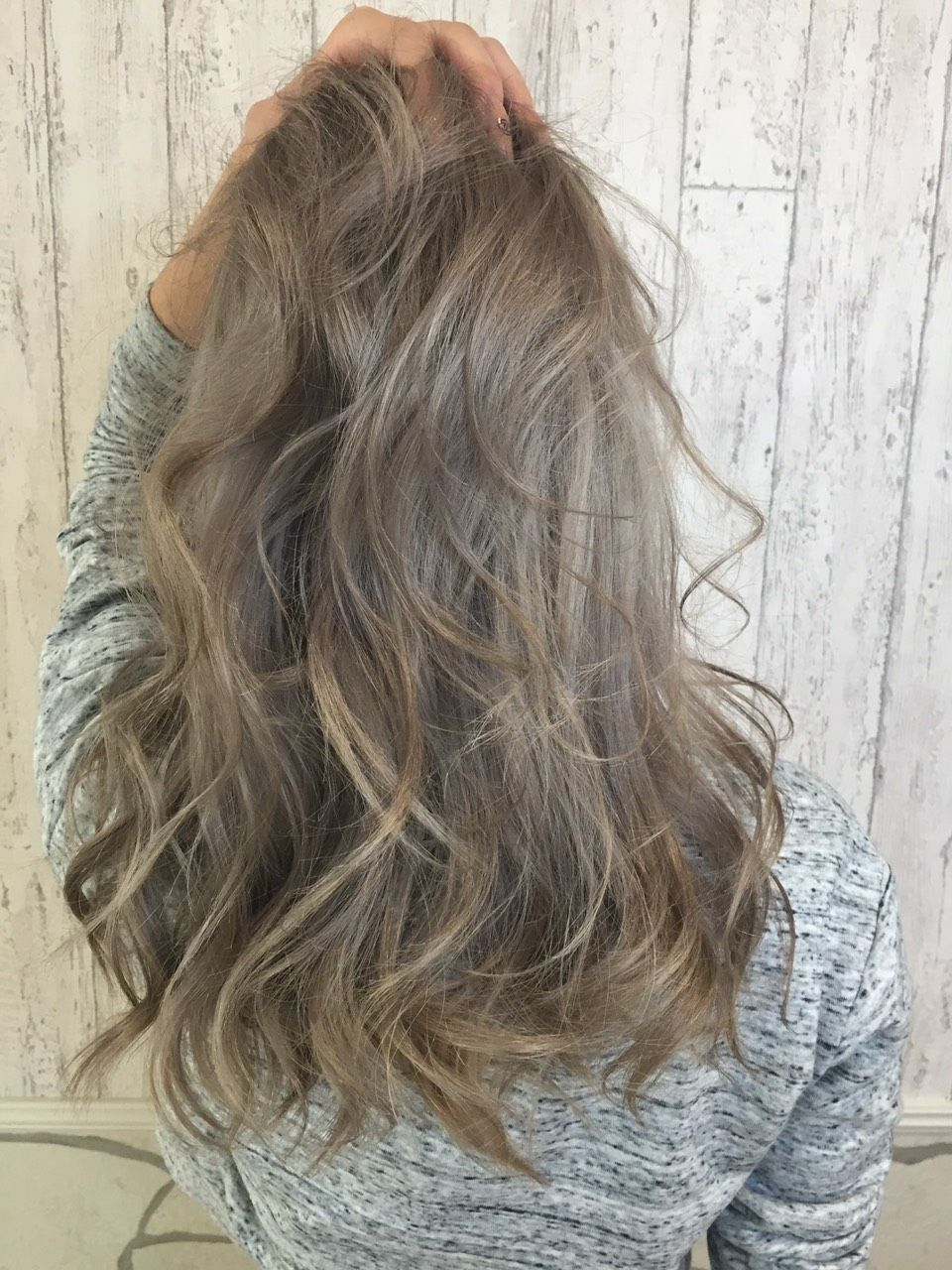 Most Popular Ash Blonde Medium Hairstyles Regarding Medium Length Ash Hair Style … (View 4 of 20)