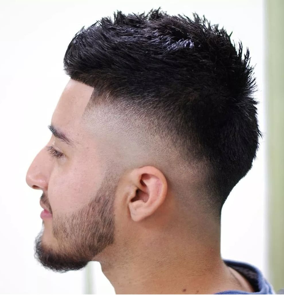 Most Popular Barely There Mohawk Hairstyles Inside 33 Best Low Fade Haircut Styles (2019) (View 16 of 20)