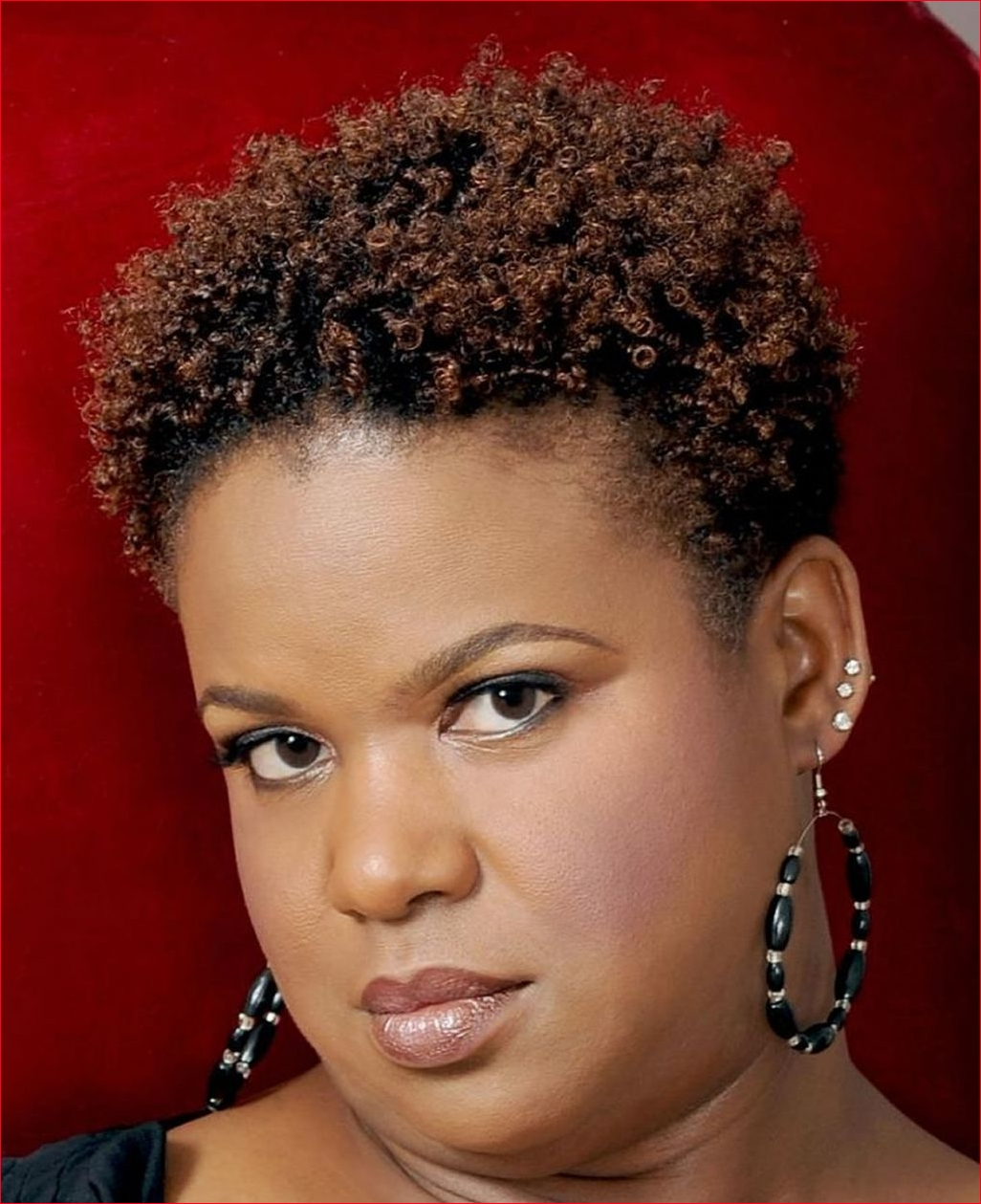 Most Popular Medium Haircuts For African American Women With Round Faces Throughout African American Short Hairstyles For Round Faces » Best Easy Hairstyles (View 12 of 20)
