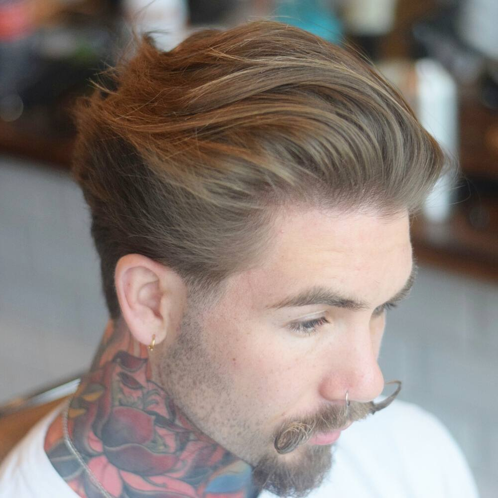 Most Popular Medium Haircuts That Cover Your Ears Pertaining To Cool Men's Medium Length Haircuts  (View 12 of 20)