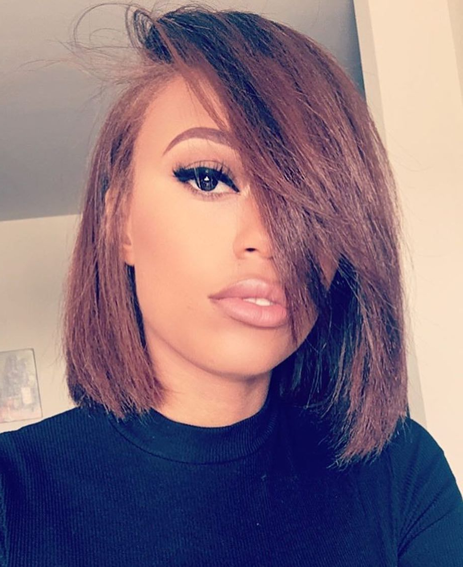 Most Popular Medium Hairstyles Black Women For Medium Hairstyles To Make You Look Younger (View 11 of 20)