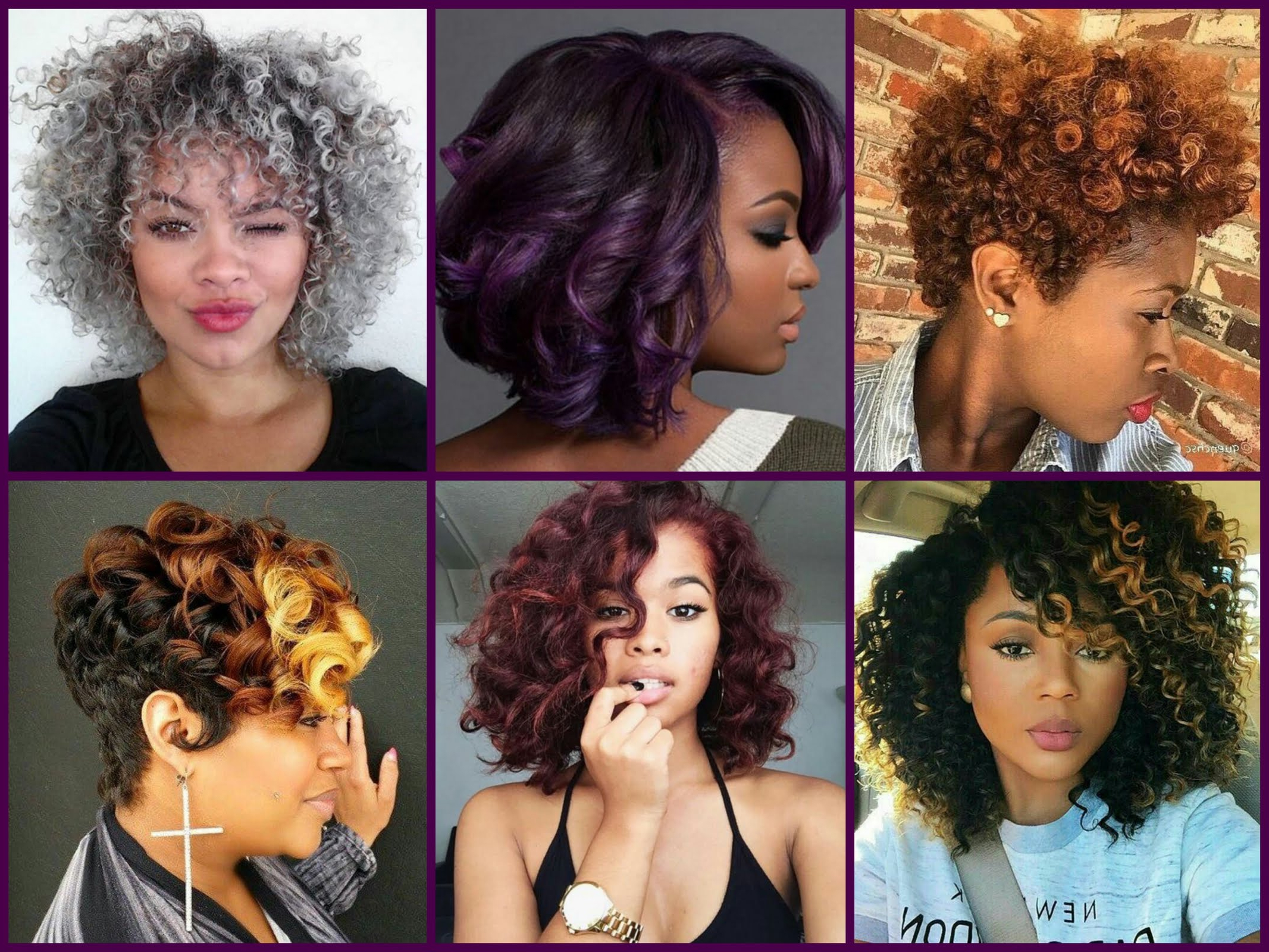 Most Popular Medium Hairstyles With Color For Black Women Throughout Hair Color : Appealing Ombre Hair For Dark Skin Color Ideas Brown (View 15 of 20)