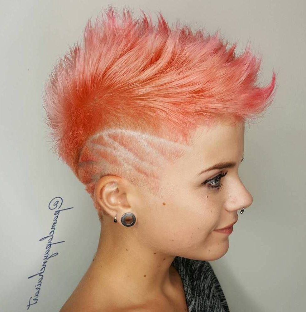 Most Popular Pink Pixie Princess Faux Hawk Hairstyles For 20 Inspiring Pixie Undercut Hairstyles In  (View 12 of 20)