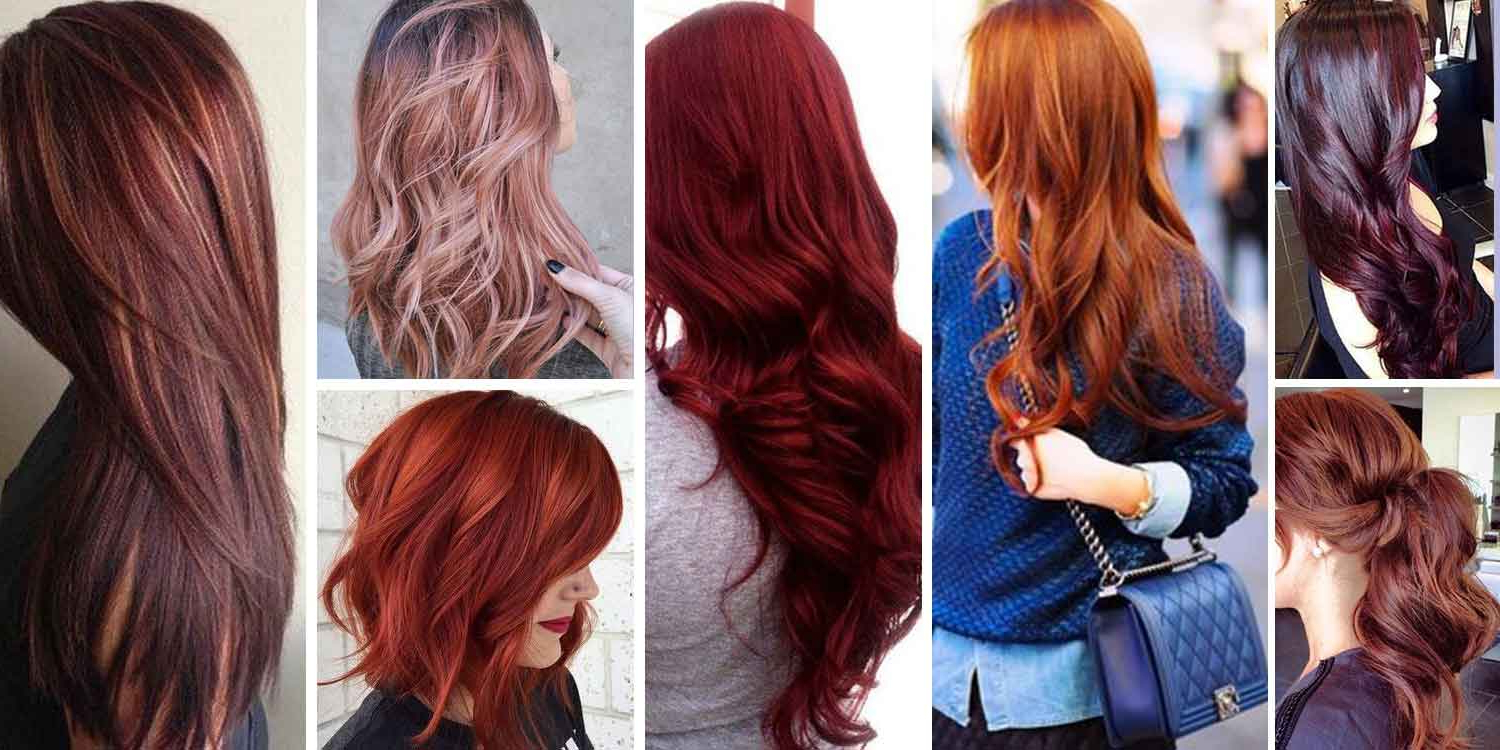 Most Popular Red Hair Color Shades (View 16 of 20)