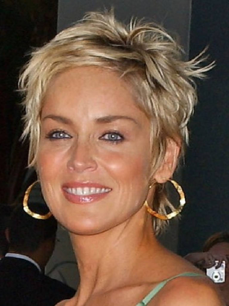 Most Popular Sharon Stone Medium Haircuts Pertaining To The Hottest Short Hairstyles & Haircuts For 2016 – The Xerxes (View 10 of 20)