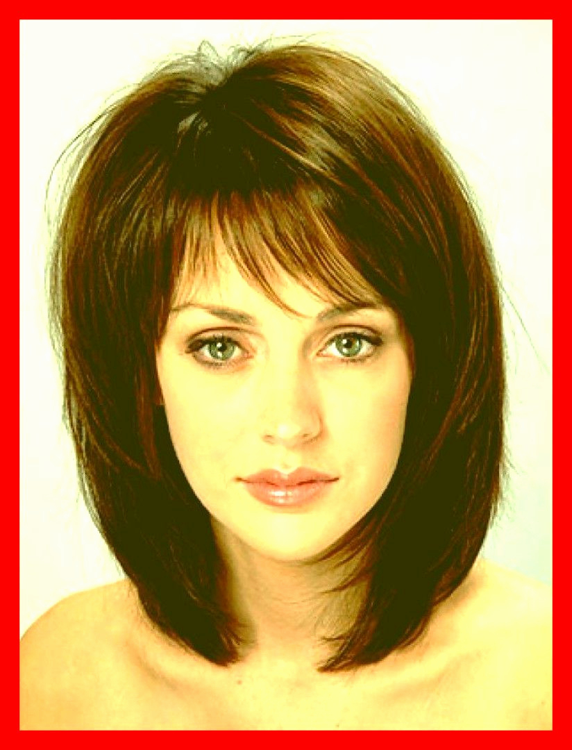 Most Popular Side Swept Bangs Medium Hairstyles Throughout Thick Medium Length Layered Hairstyles Awesome 20 S Of Hairstyles (View 11 of 20)