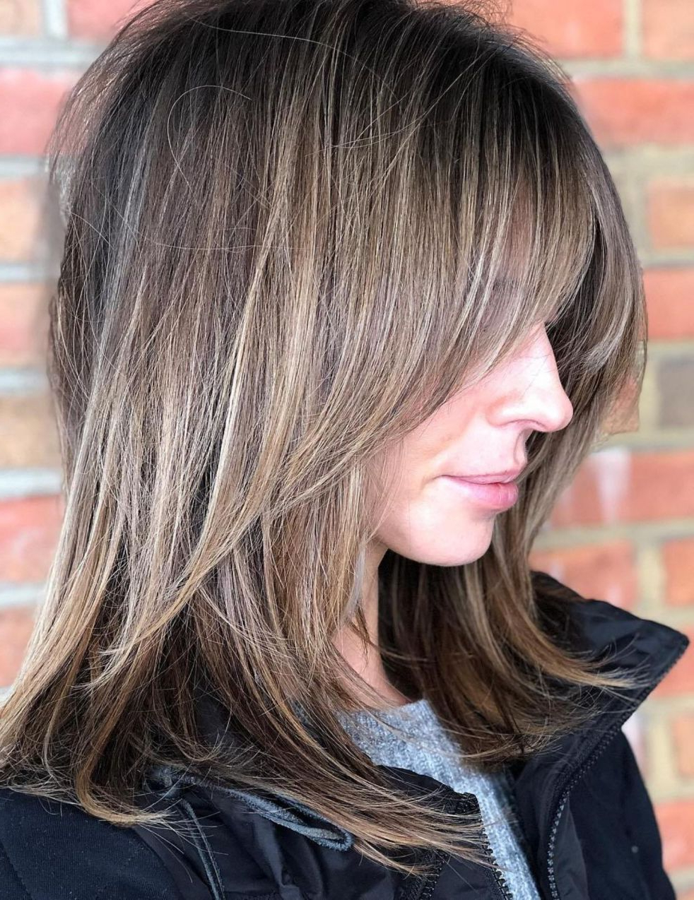 Most Popular Swoopy Layers Hairstyles For Mid Length Hair With 50 Best Variations Of A Medium Shag Haircut For Your Distinctive (View 14 of 20)