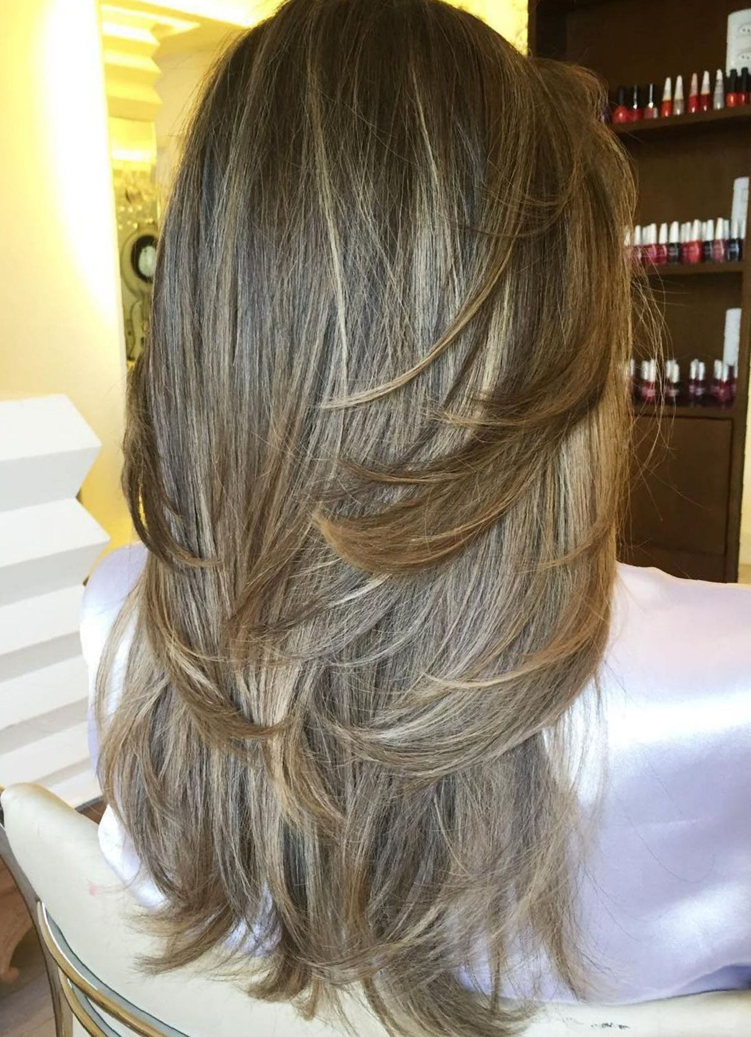 Most Popular Swoopy Layers Hairstyles For Voluminous And Dynamic Hair Intended For 80 Cute Layered Hairstyles And Cuts For Long Hair (View 7 of 20)