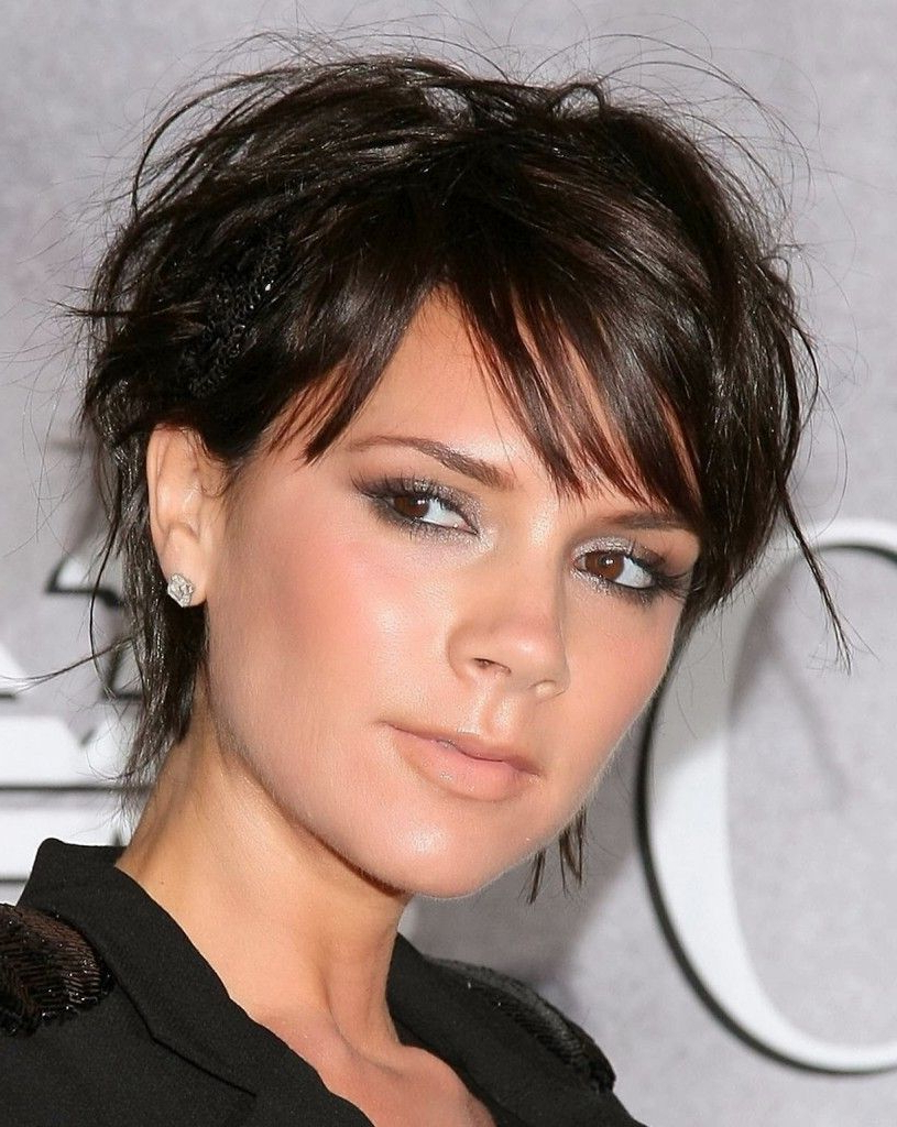 Most Popular Victoria Beckham Medium Hairstyles Throughout 50 Sexiest Trendy Hairstyles For (View 7 of 20)
