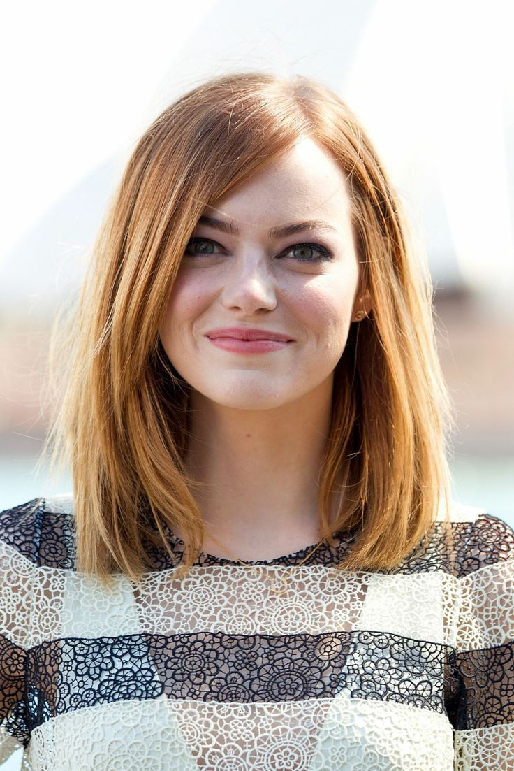 Most Popular Women Medium Haircuts For Round Faces Inside Women Short Straight Hairstyles (View 15 of 20)