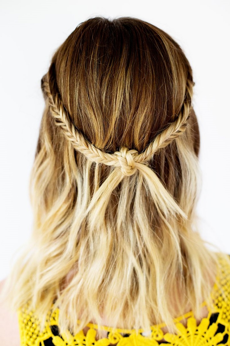 Most Recent Bohemian Medium Hairstyles Regarding Top 10 Adorable Hairstyles For Shoulder Length Hair – Top Inspired (View 14 of 20)