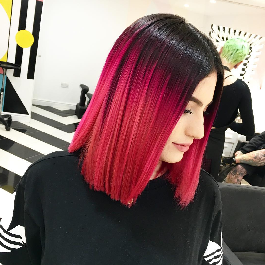 Most Recent Bright Red Medium Hairstyles For 35 Stunning New Red Hairstyles & Haircut Ideas For 2019 – Redhead Ideas (View 13 of 20)