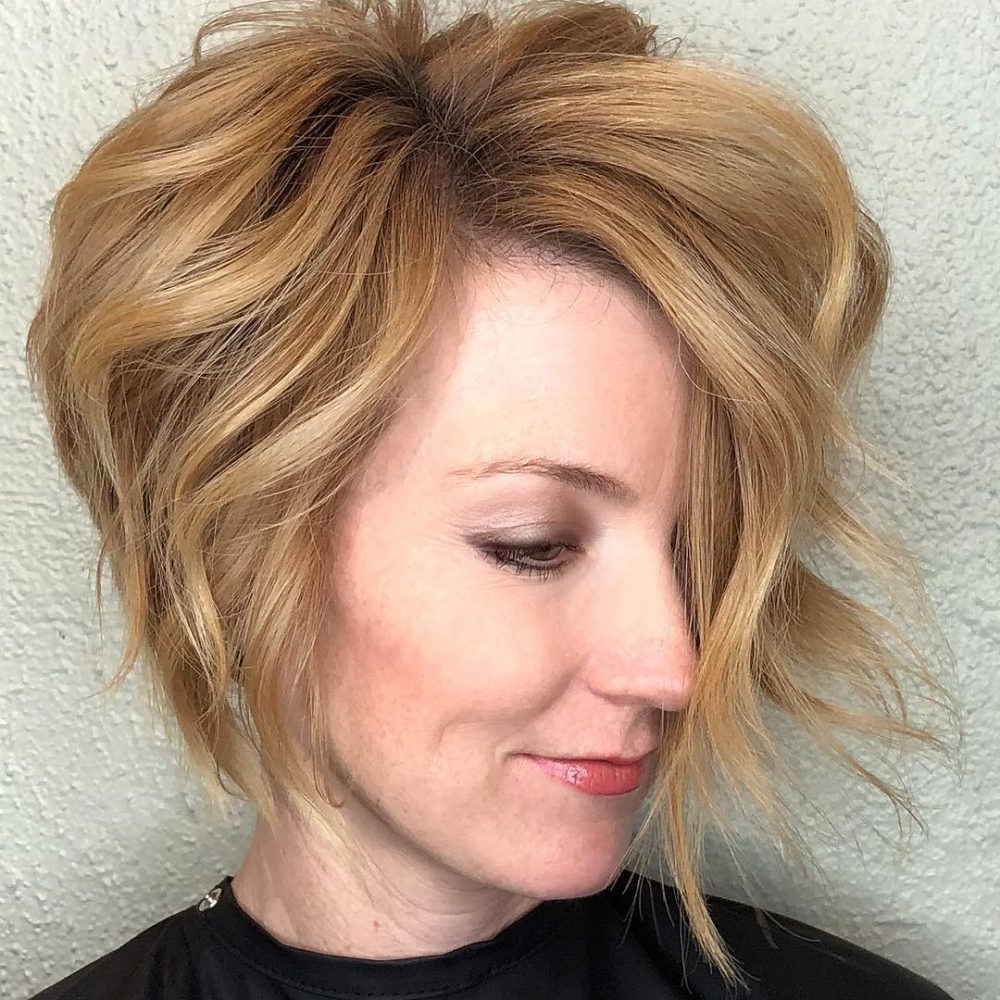 Most Recent Cute Medium Haircuts For Heart Shaped Faces Throughout Top 27 Haircuts For Heart Shaped Faces Of (View 2 of 20)
