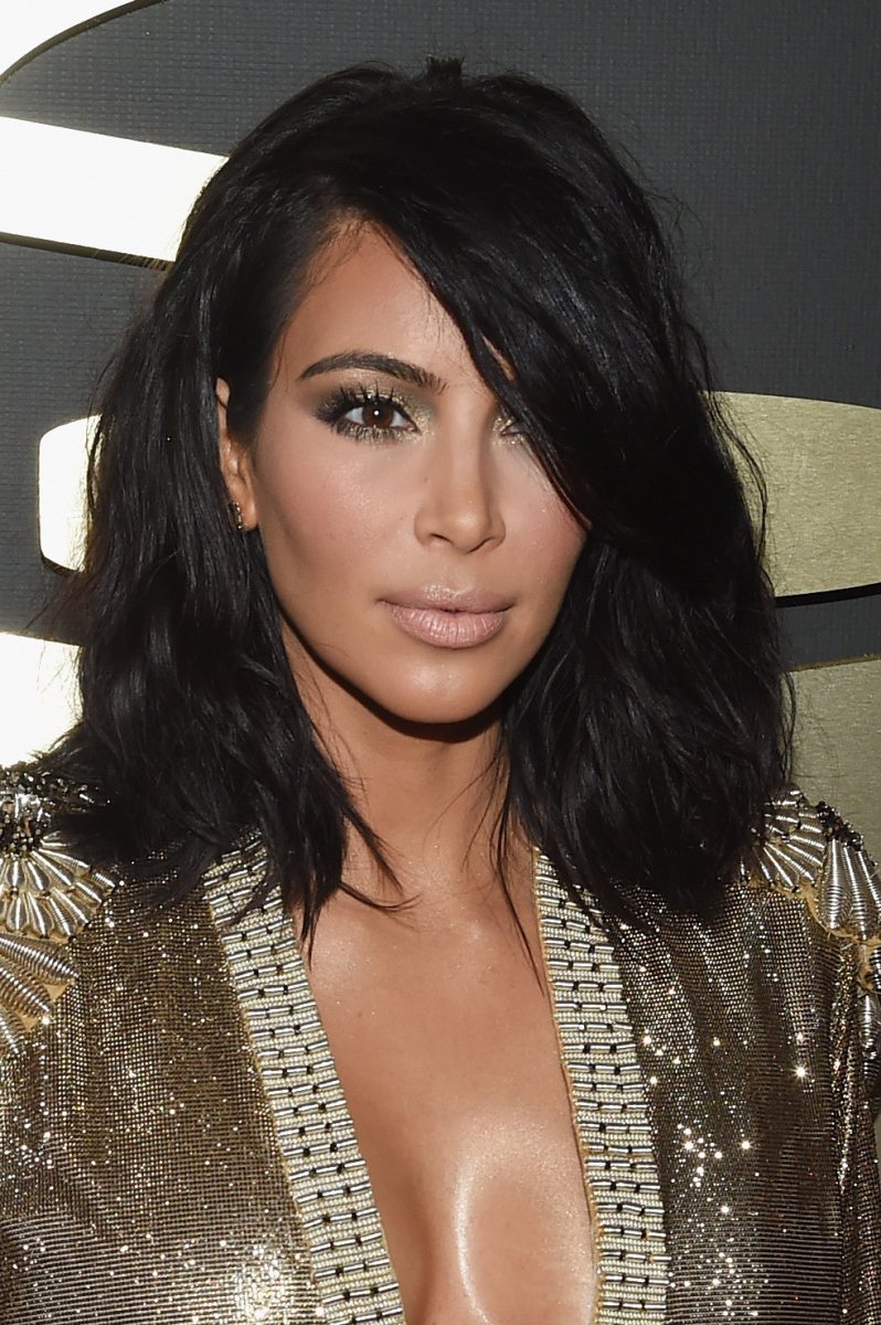 Most Recent Kim Kardashian Medium Haircuts With Regard To Kim Kardashian's Hair Stylist Tells Us About That New Short Cut (View 14 of 20)