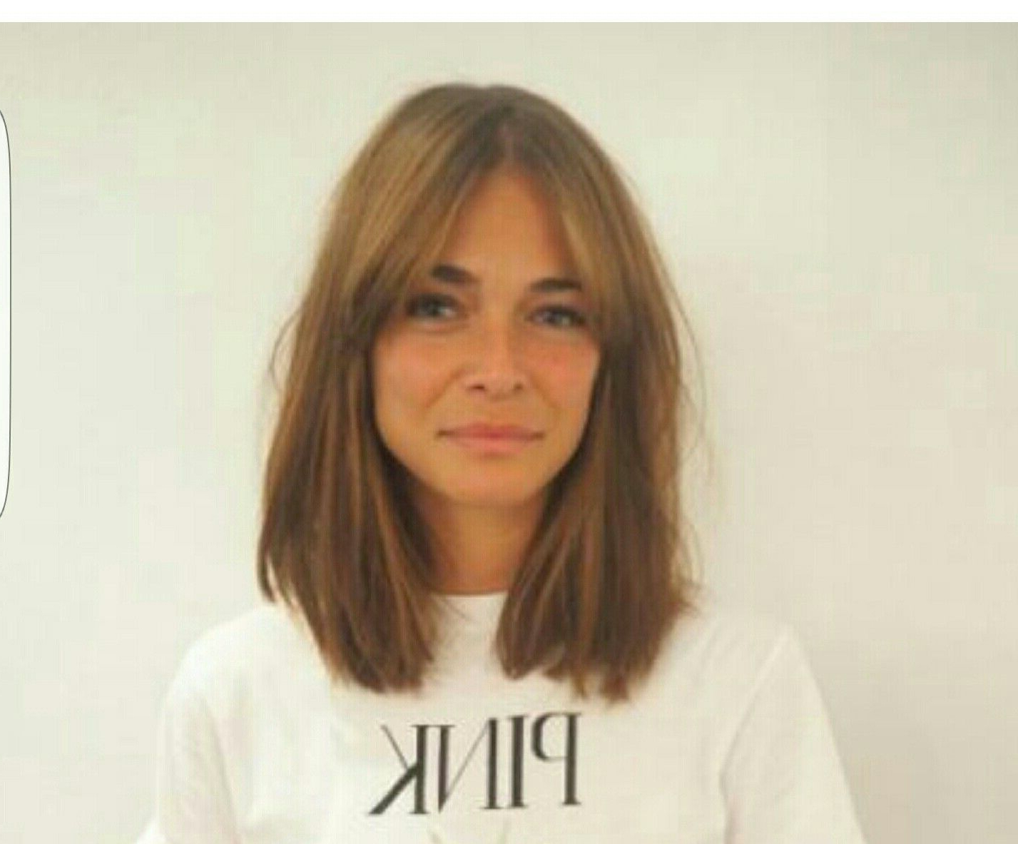 Most Recent Medium Haircuts With Fringe With My Ideal Haircut – Shoulder Length With A Grown Out Fringe (View 8 of 20)