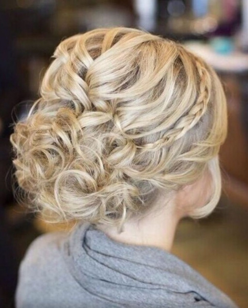 Most Recent Medium Hairstyles For Dances Inside Medium Hairstyle : Cute Updos For Medium Hair Updo Hairstyle (View 7 of 20)