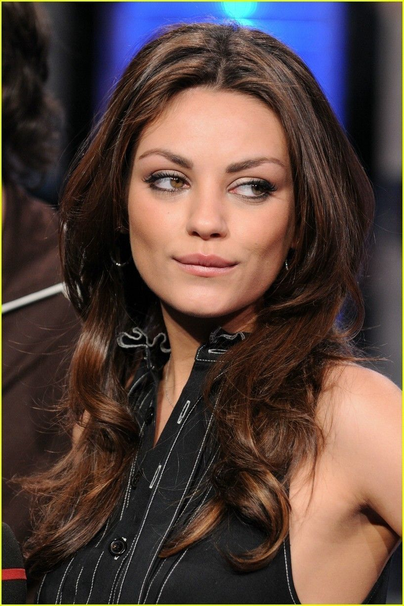 Most Recent Mila Kunis Medium Hairstyles With Regard To Mila Kunis (View 12 of 20)