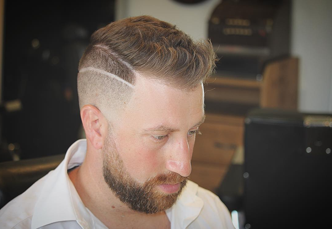 [%Most Recent Shaved Side Medium Hairstyles Regarding 75 Best Shaved Side Hairstyles – [The Hottest 2019 Trends]|75 Best Shaved Side Hairstyles – [The Hottest 2019 Trends] Inside Newest Shaved Side Medium Hairstyles%] (View 1 of 20)