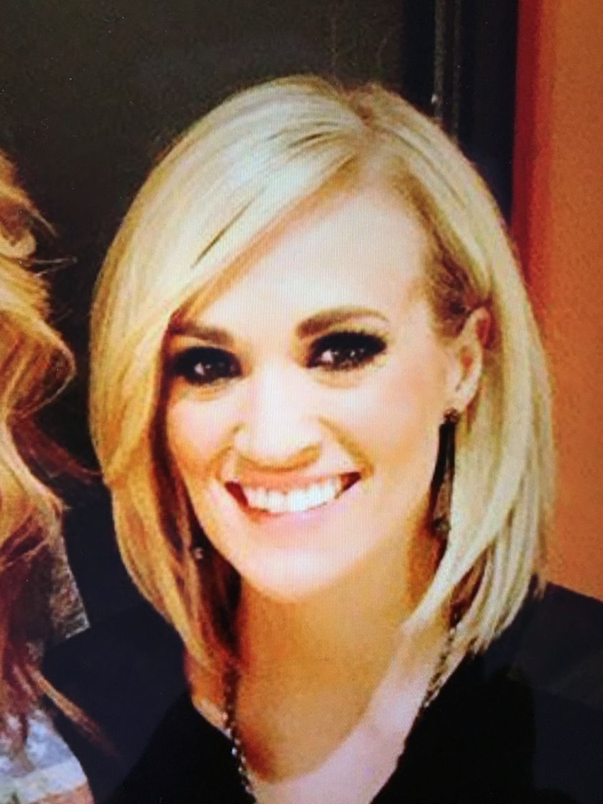 Most Recently Released Carrie Underwood Medium Hairstyles In Carrie Underwood Medium Bob (View 6 of 20)