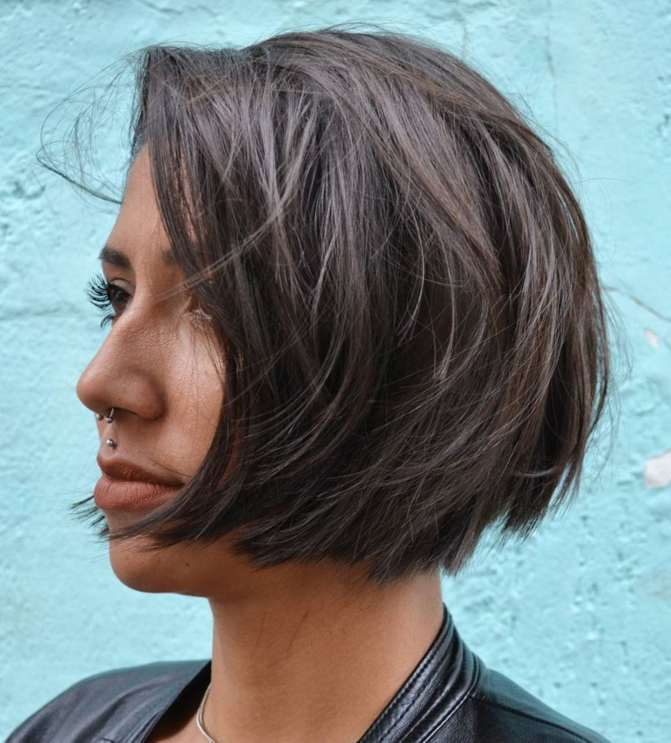 Most Recently Released Cropped Medium Hairstyles Throughout 60 Best Short Bob Haircuts And Hairstyles For Women In (View 2 of 20)