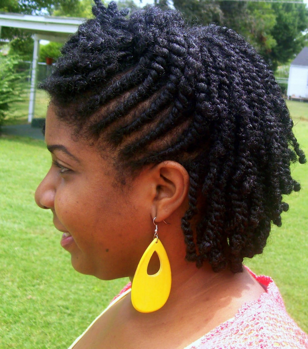Most Recently Released Medium Haircuts For Natural African American Hair With Unique African American Natural Hairstyles For Medium Length Hair  (View 10 of 20)
