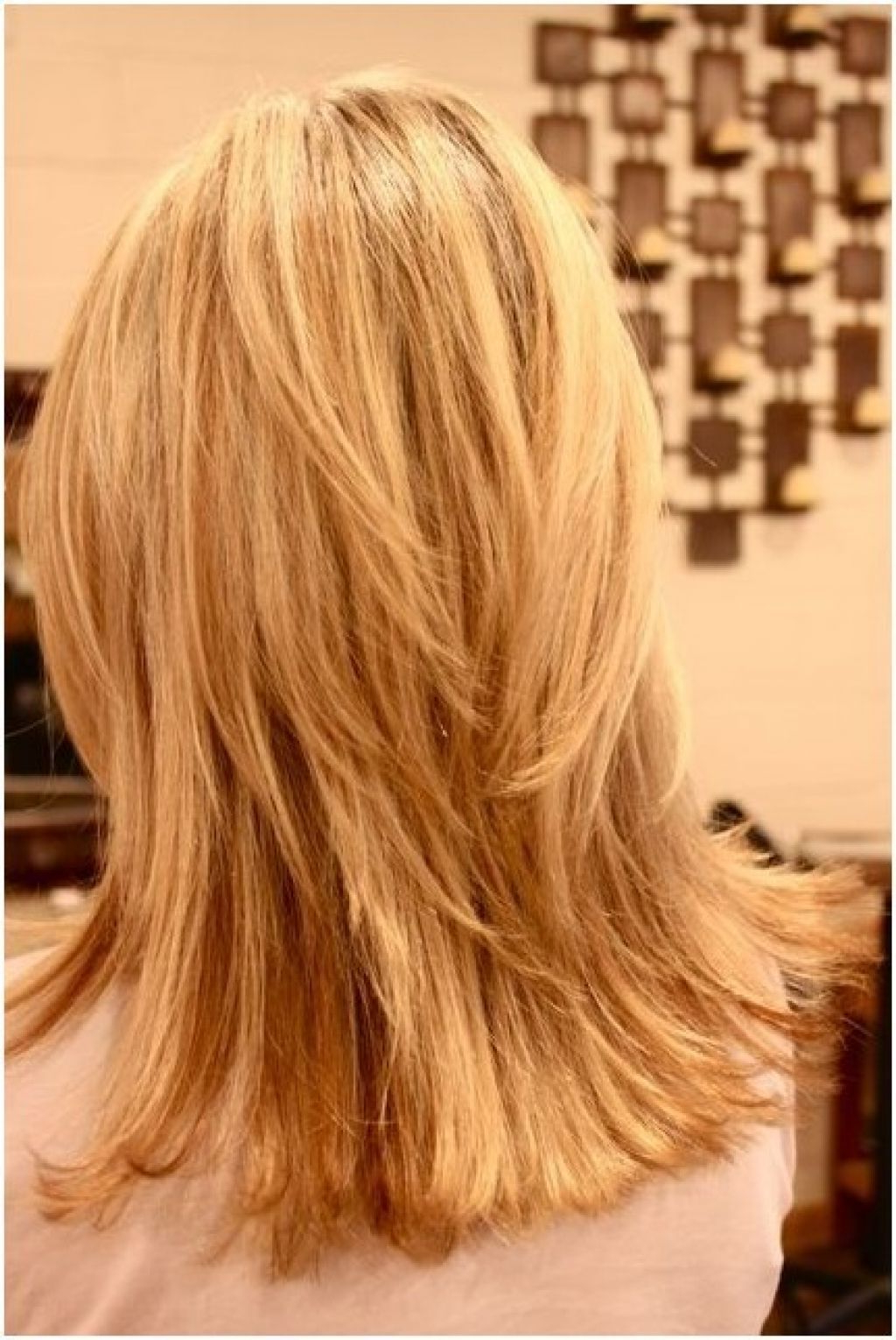 Most Recently Released Medium Haircuts Layered With 27 Awesome Medium Length Layered Haircut Back View Images (View 9 of 20)