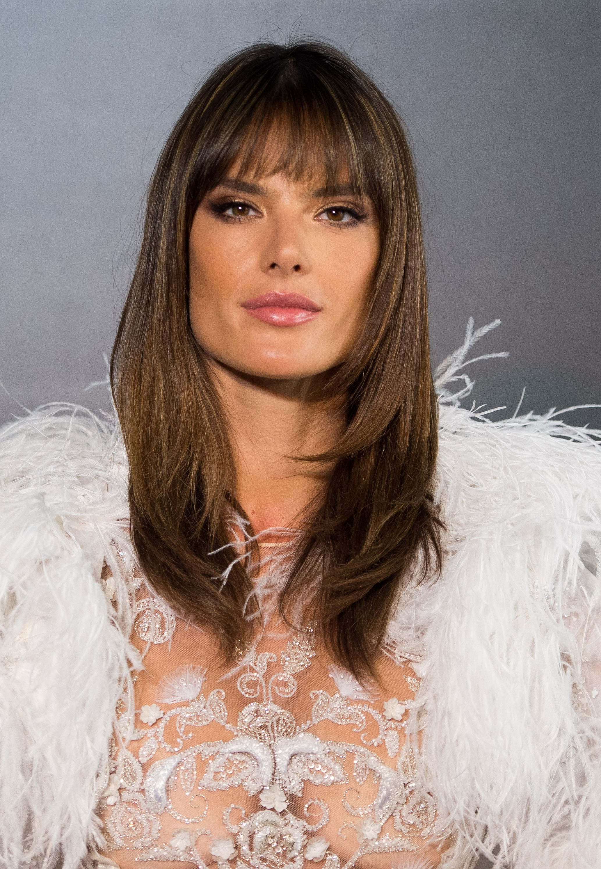 Most Recently Released Medium Haircuts With Fringe Bangs Pertaining To Best Fringe Hairstyles For 2018 – How To Pull Off A Fringe Haircut (View 13 of 20)