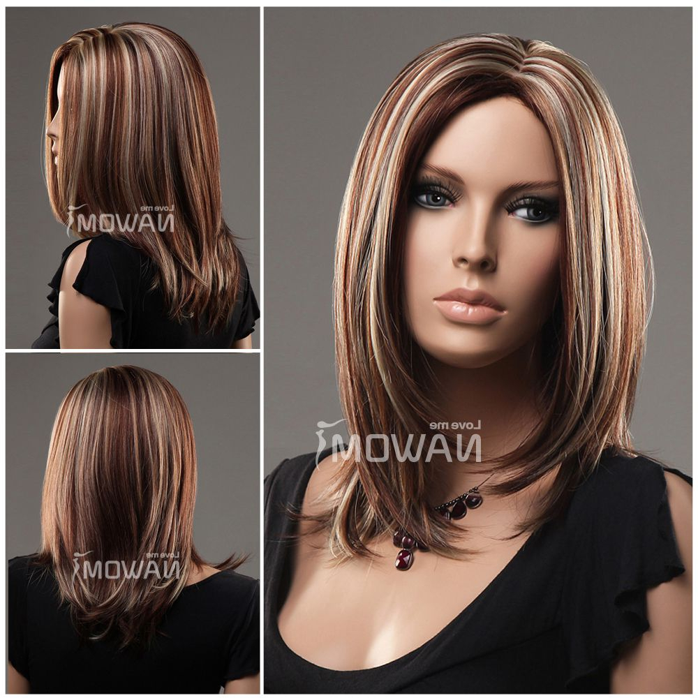 Most Recently Released Medium Haircuts With Red Color With Medium Hairstyles With Highlightshairstyles With Highlights Buy (View 17 of 20)