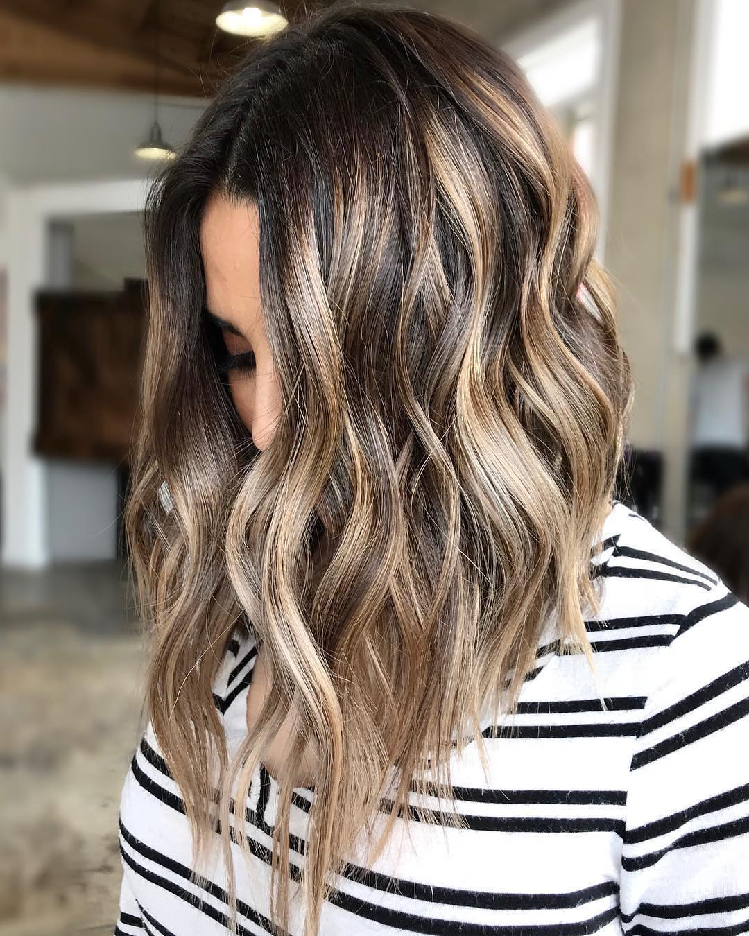 Most Recently Released Medium Hairstyles And Colors In Stylish Ombre Balayage Hairstyles For Medium Length Hair, Medium (View 17 of 20)