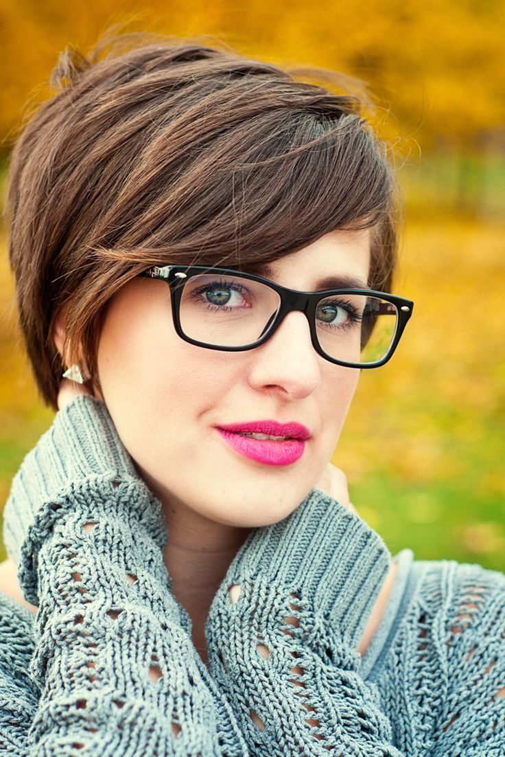 Most Recently Released Medium Hairstyles For Girls With Glasses Intended For 60 Short Hairstyles Ideas You Must Try Once In Lifetime (View 4 of 20)
