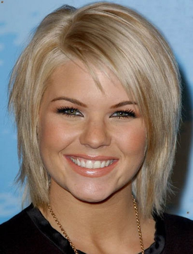 Most Recently Released Medium Hairstyles For Round Faces And Thin Fine Hair Throughout Medium To Short Hairstyles For Thin Hair Short Hairstyles Round (View 11 of 20)