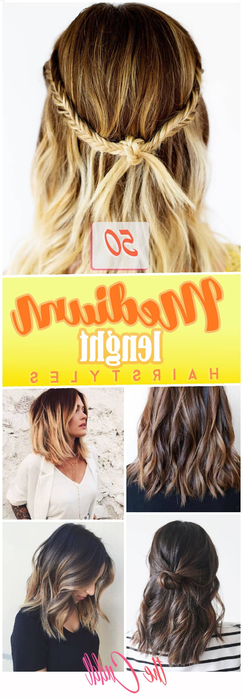 Most Recently Released Spunky Medium Hairstyles For 50 Pretty Chic Medium Lenght Hairstyles For (View 12 of 20)