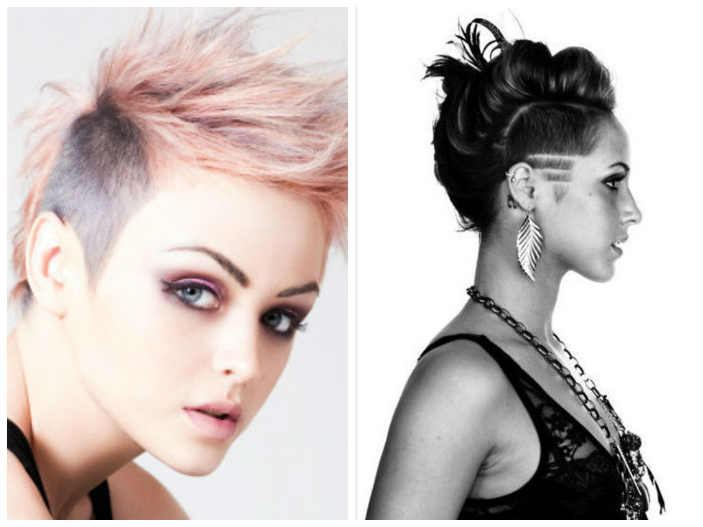 Most Up To Date Asymmetrical Pixie Faux Hawk Hairstyles Within Hairstyle Ideas With Shaved Sides – Hair World Magazine (View 12 of 20)