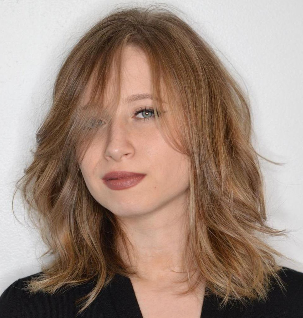 Most Up To Date Fine Hair Medium Haircuts Within 70 Devastatingly Cool Haircuts For Thin Hair In  (View 16 of 20)