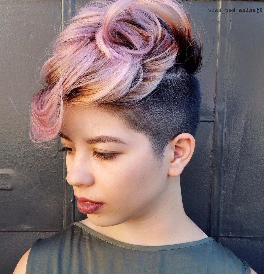 Most Up To Date Gelled Mohawk Hairstyles Regarding 70 Most Gorgeous Mohawk Hairstyles Of Nowadays In  (View 15 of 20)