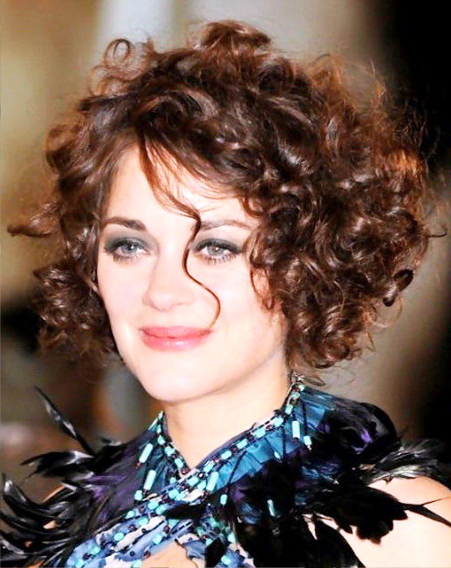 Most Up To Date Medium Haircuts For Naturally Curly Hair And Round Face Pertaining To The Beauty Of Short Naturally Curly Hairstyles (View 14 of 20)