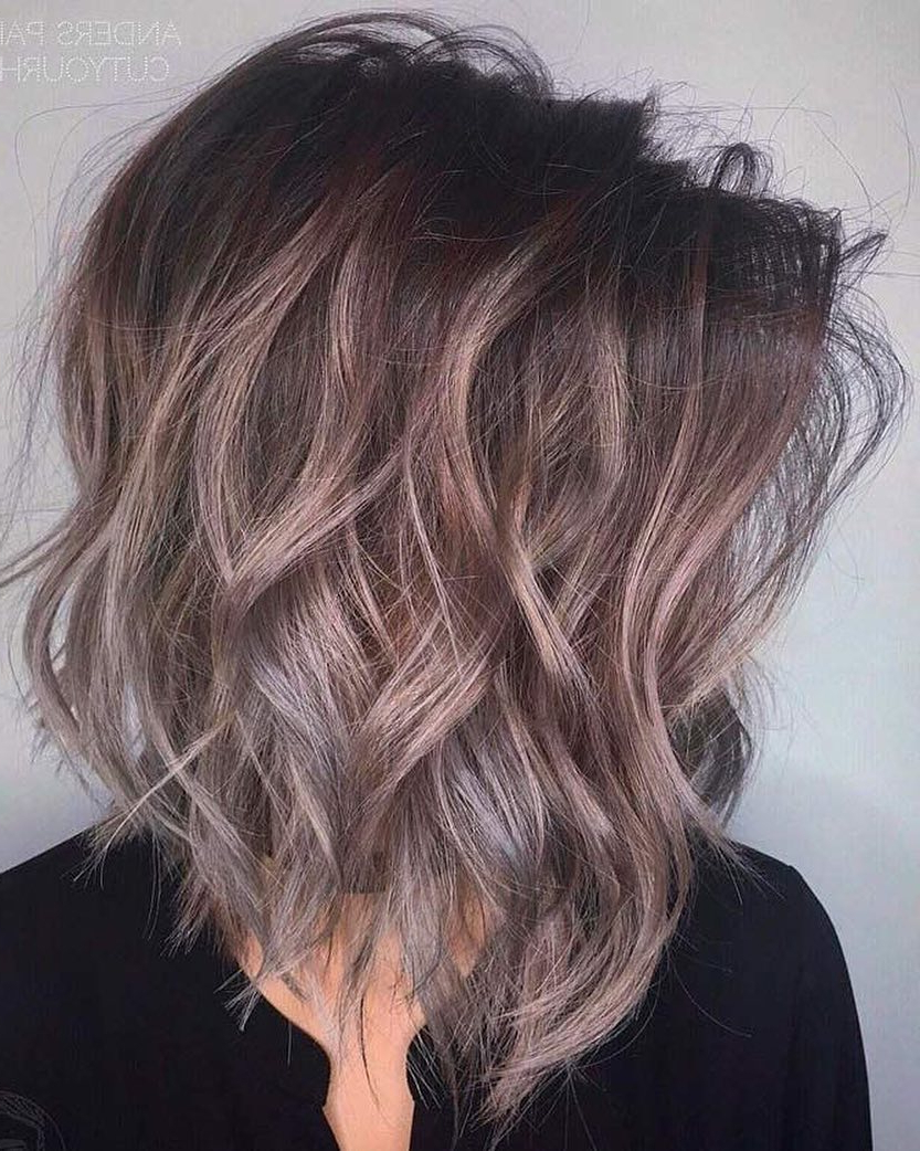 Most Up To Date Medium Haircuts For Wavy Hair Pertaining To 10 Latest Medium Wavy Hair Styles For Women: Shoulder Length (View 17 of 20)