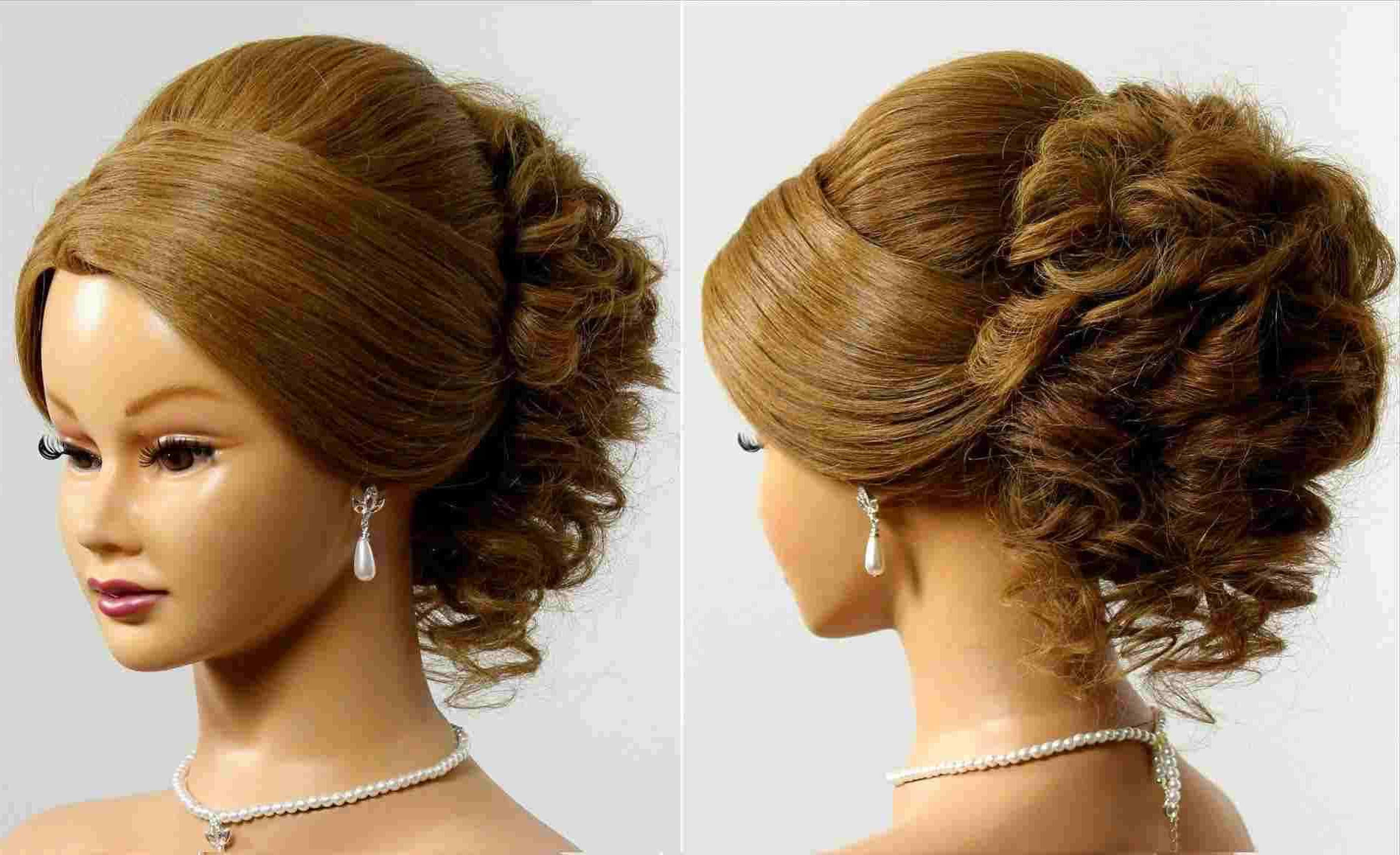 Most Up To Date Medium Hairstyles For Dances Throughout Homecoming Hairstyles For Medium Length Half Up Curls Best Of Home (View 8 of 20)