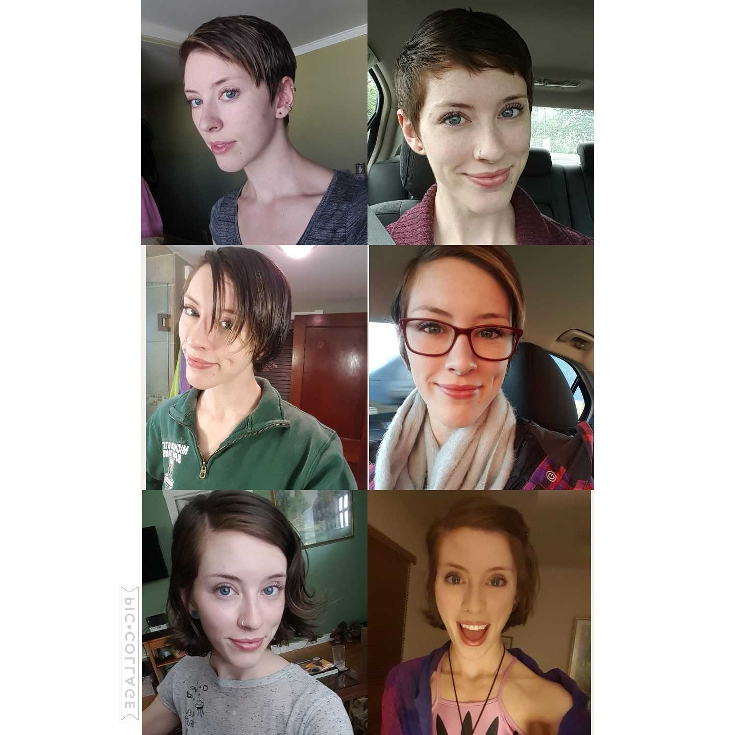 Most Up To Date Medium Hairstyles For Growing Out A Pixie Cut For Growing Out A Pixie Cut ~ 1 Year Progress : Hair (View 17 of 20)