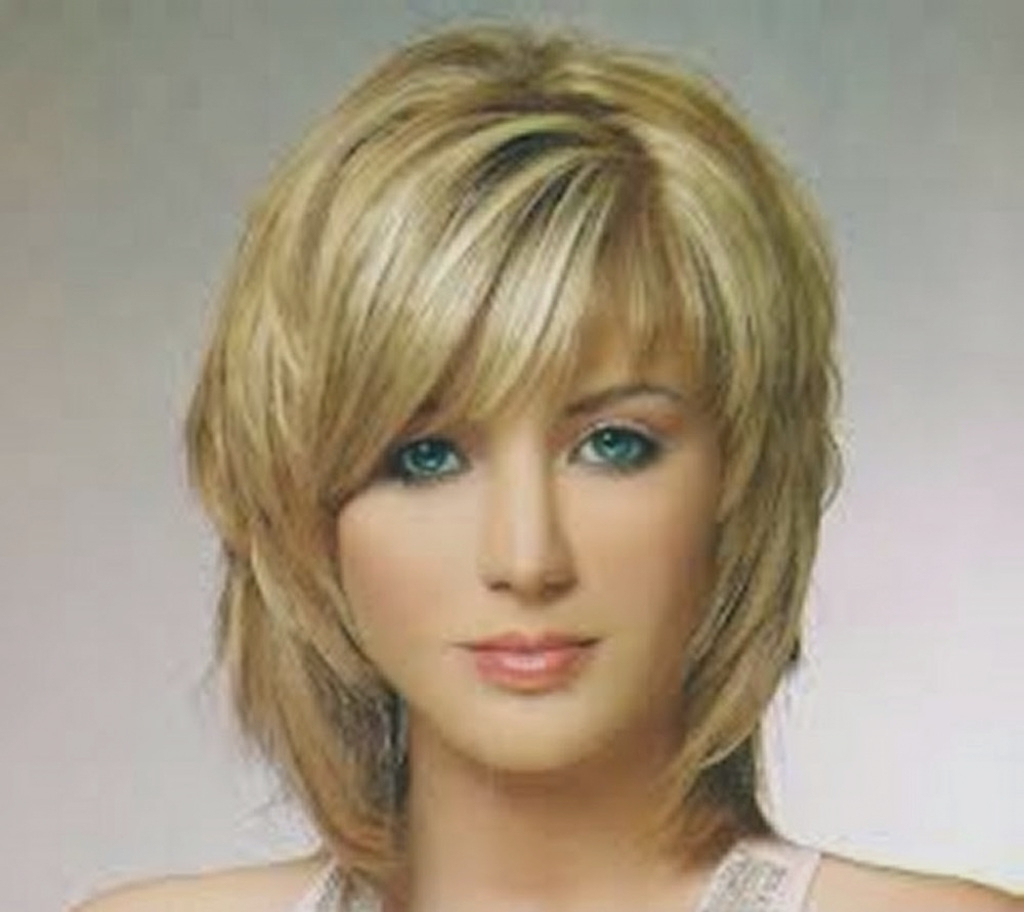 Most Up To Date Medium Hairstyles Side Swept Bangs Inside Medium Hairstyles : Awesome Medium Length Hairstyles Side Swept (View 12 of 20)