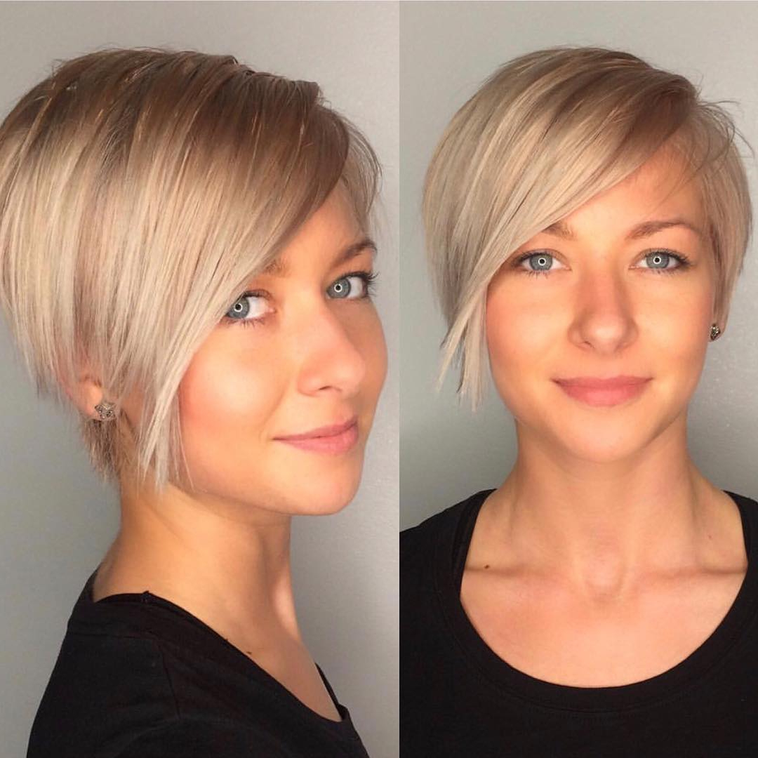 Most Up To Date Medium Hairstyles With Shaved Sides For Women With Regard To 10 Chic Shaved Haircuts For Short Hair (View 19 of 20)