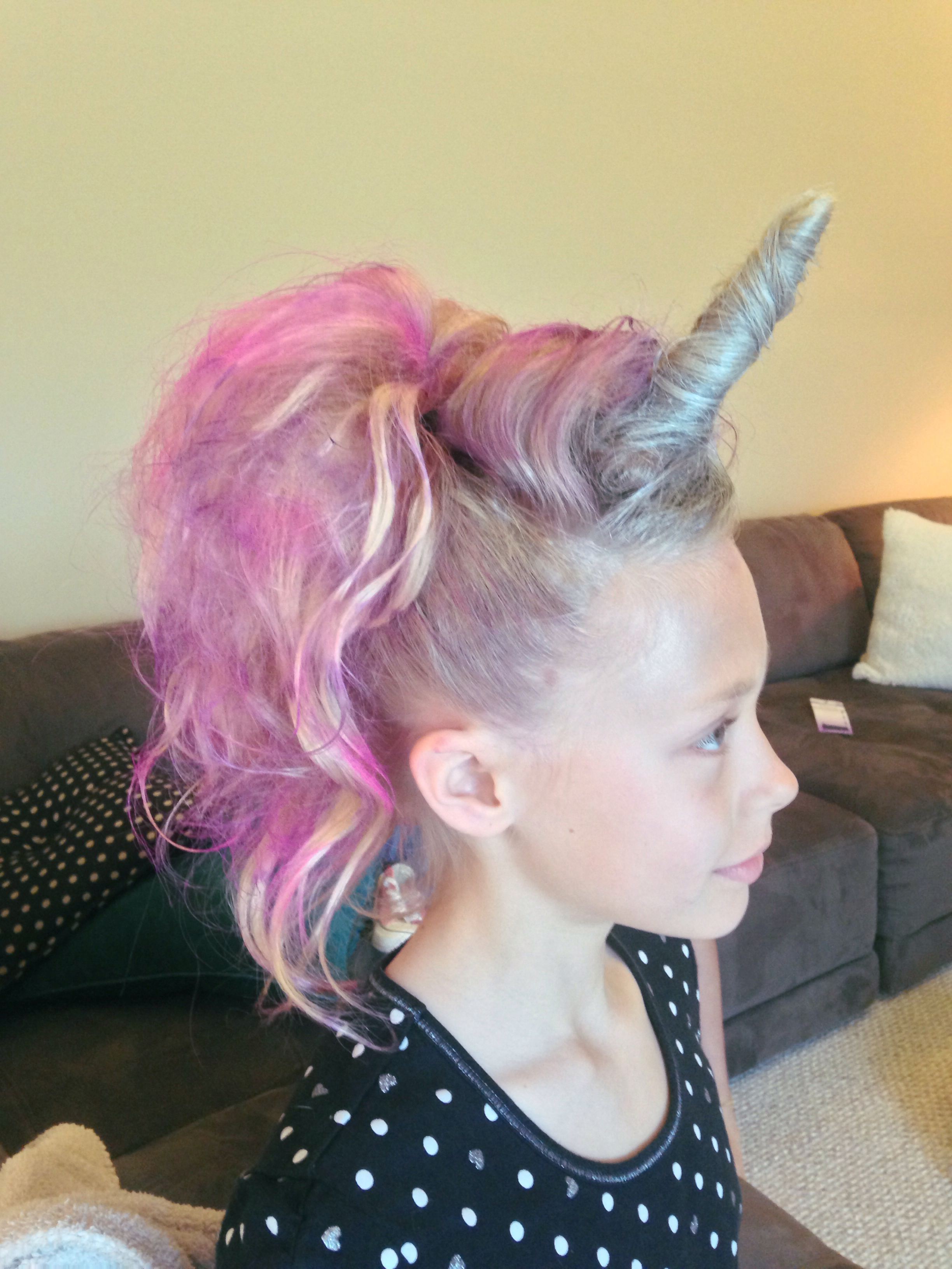 Most Up To Date Pink And Purple Mohawk Hairstyles In 18 Crazy Hair Day Ideas For Girls & Boys – Bright Star Kids (View 13 of 20)