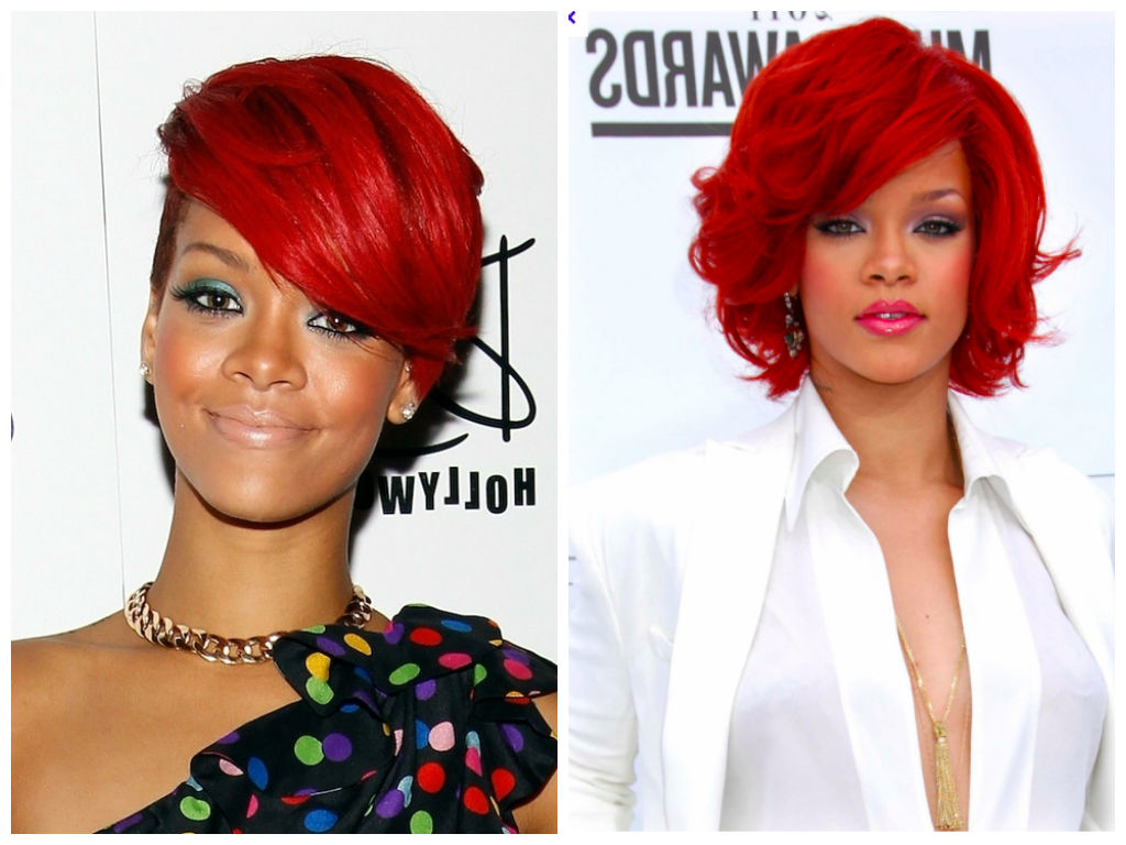 Most Up To Date Red And Black Medium Hairstyles Throughout Red Hair Color Ideas For Black Women – Hair World Magazine (View 17 of 20)
