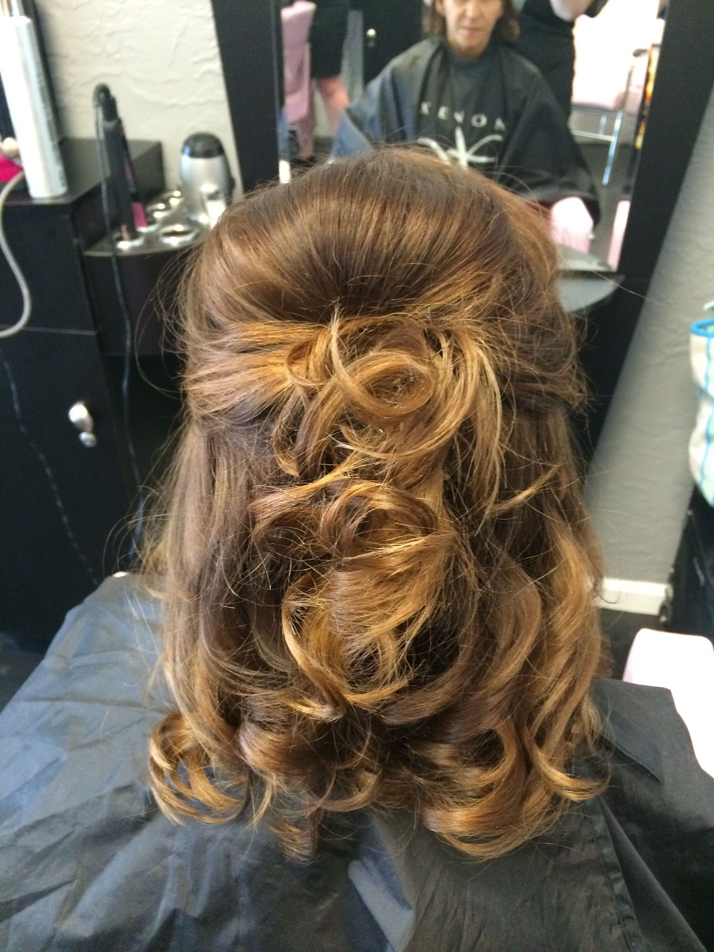 Mother Of The Bride Hair. Half Up Half Down (View 10 of 20)