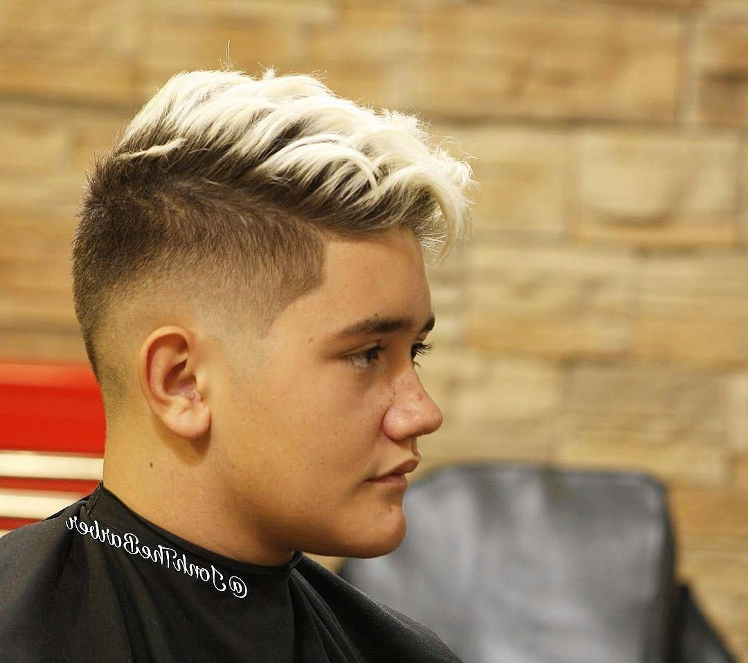 My Style Throughout Most Popular Mohawk Haircuts With Blonde Highlights (View 17 of 20)