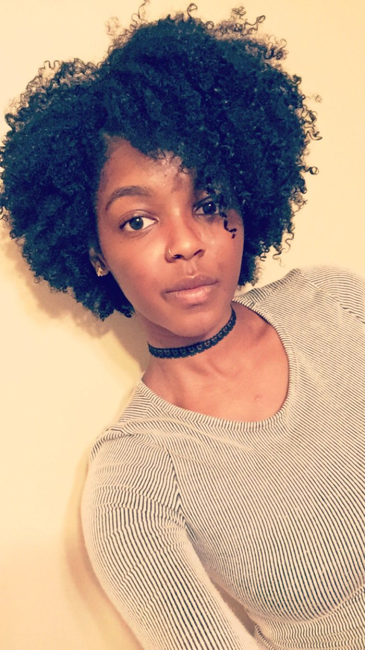 Naturally Natural Within Current Medium Haircuts For Naturally Curly Black Hair (Gallery 3 of 20)