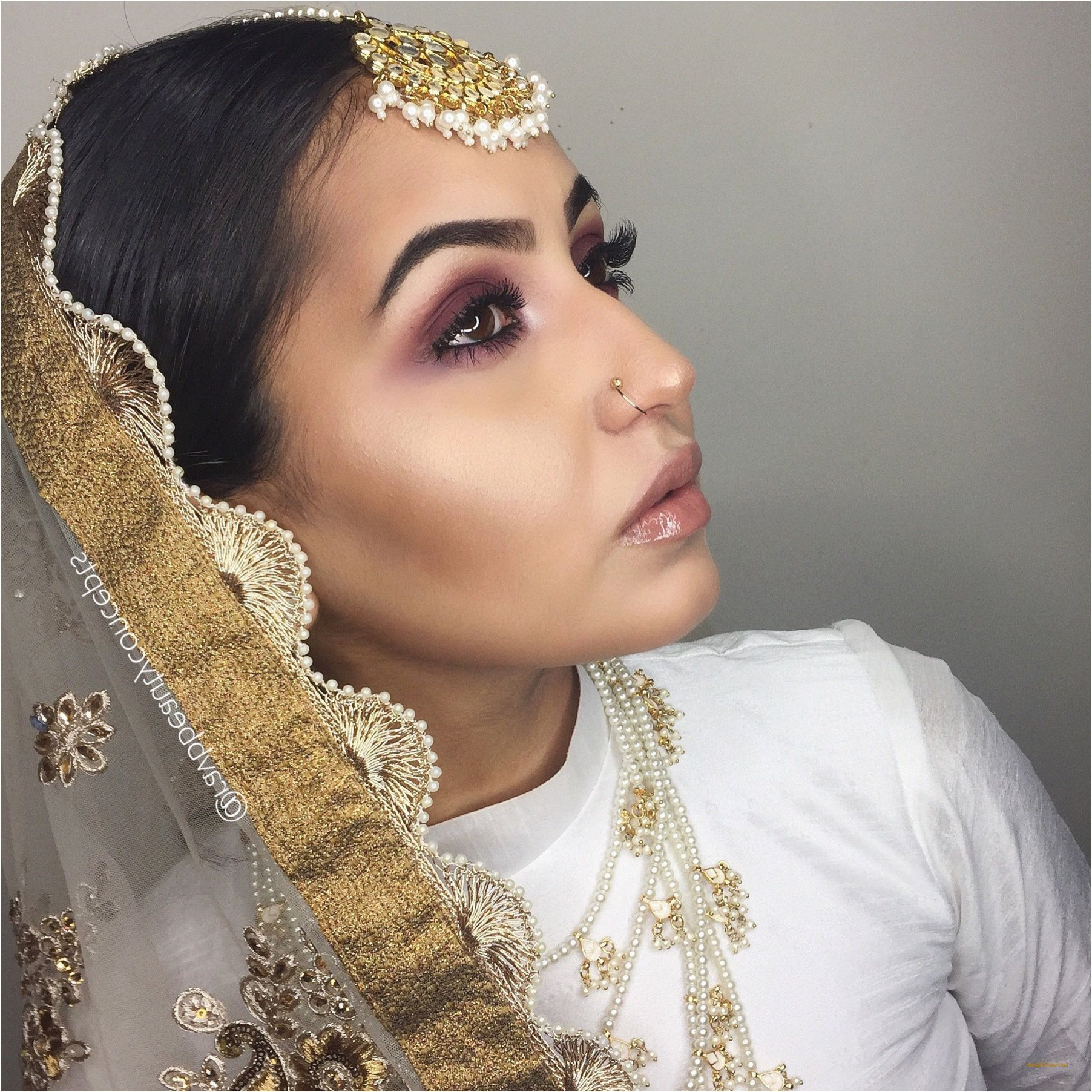 New Simple Indian Wedding Hairstyles For Medium Hair – Hair New For Most Recent Indian Bridal Medium Hairstyles (View 14 of 20)