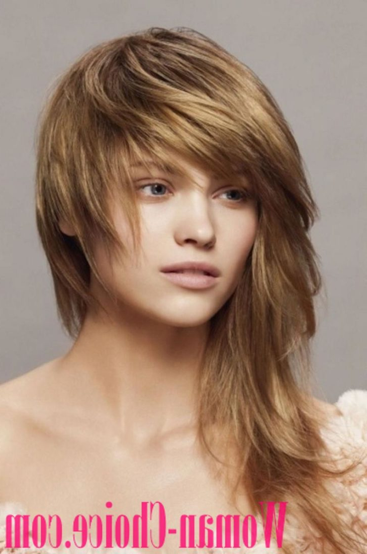 Newest Asymmetrical Medium Hairstyles For Trendy Haircuts For Hair Of Medium Length 2019 – 100 Photos (View 12 of 20)